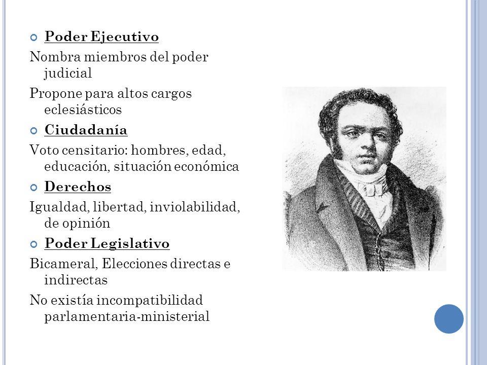 Gobierno de Manuel Montt 1851-1861 Reformas legislativa Abolición de los mayorazgos (1852-1857) Eliminación del diezmo El Código Civil (1855) Ley orgánica de instrucción primaria