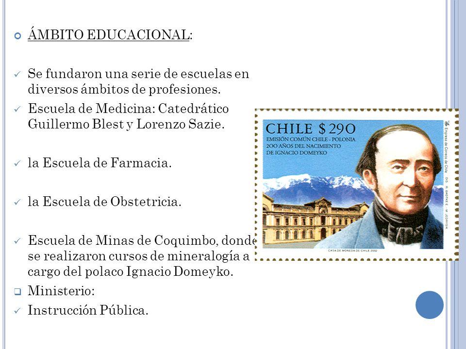 ÁMBITO EXTERNO (INTERNACIONAL): Se producirá la guerra contra la confederación Perú Boliviana.