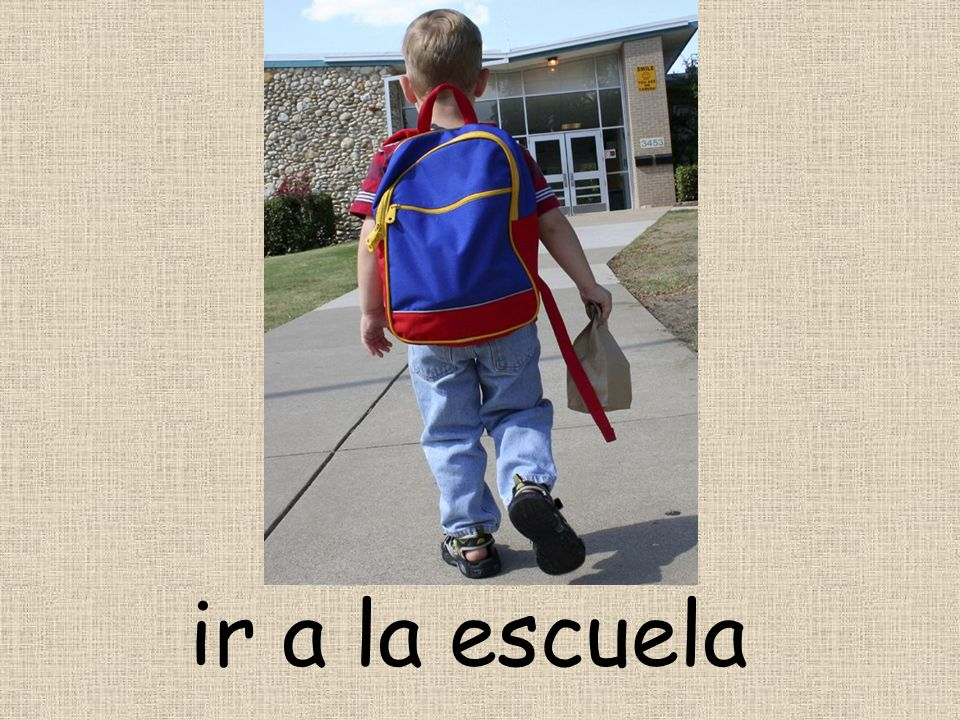 ir a la escuela