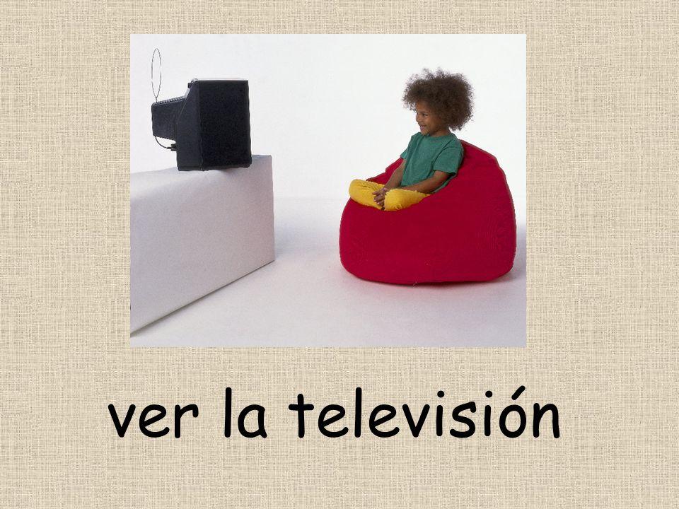 ver la televisión
