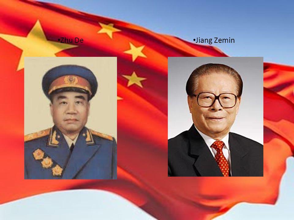 Zhu De Jiang Zemin