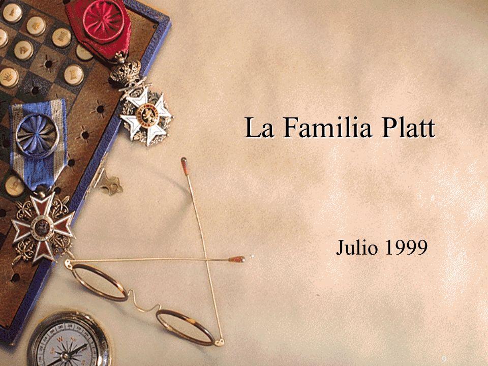 9 La Familia Platt Julio 1999