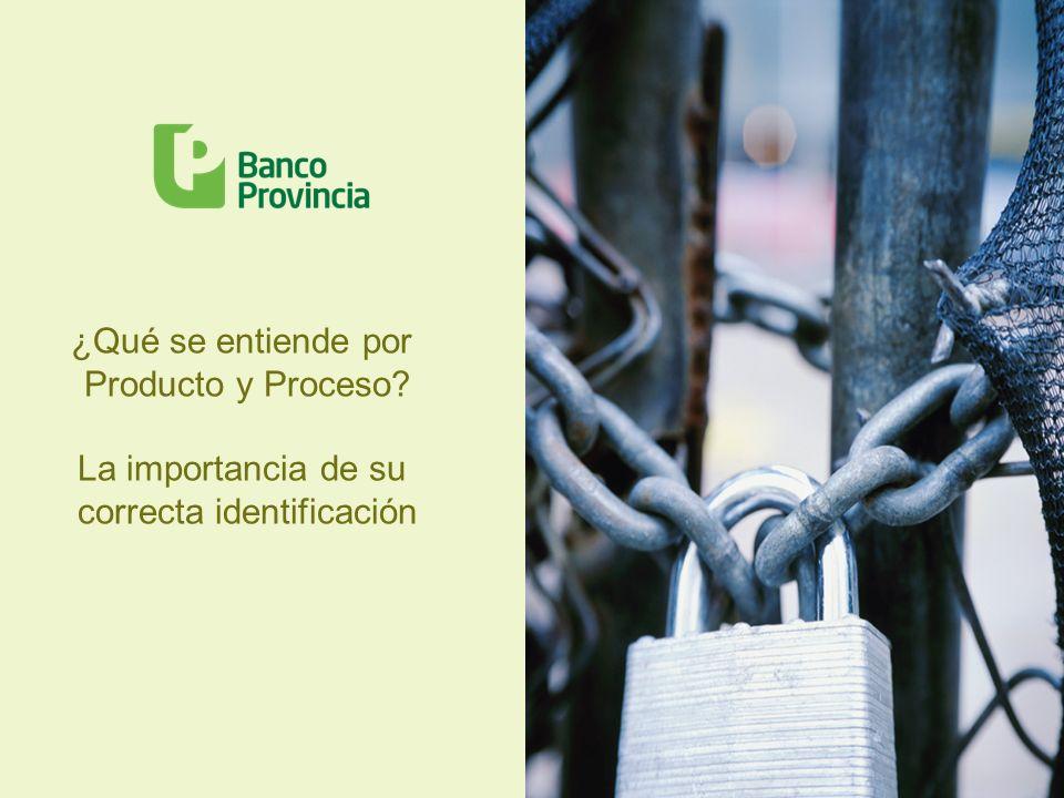 Administración por Procesos Los riesgos y sobre todo el Riesgo Operacional, abarcan todas las actividades del Banco.