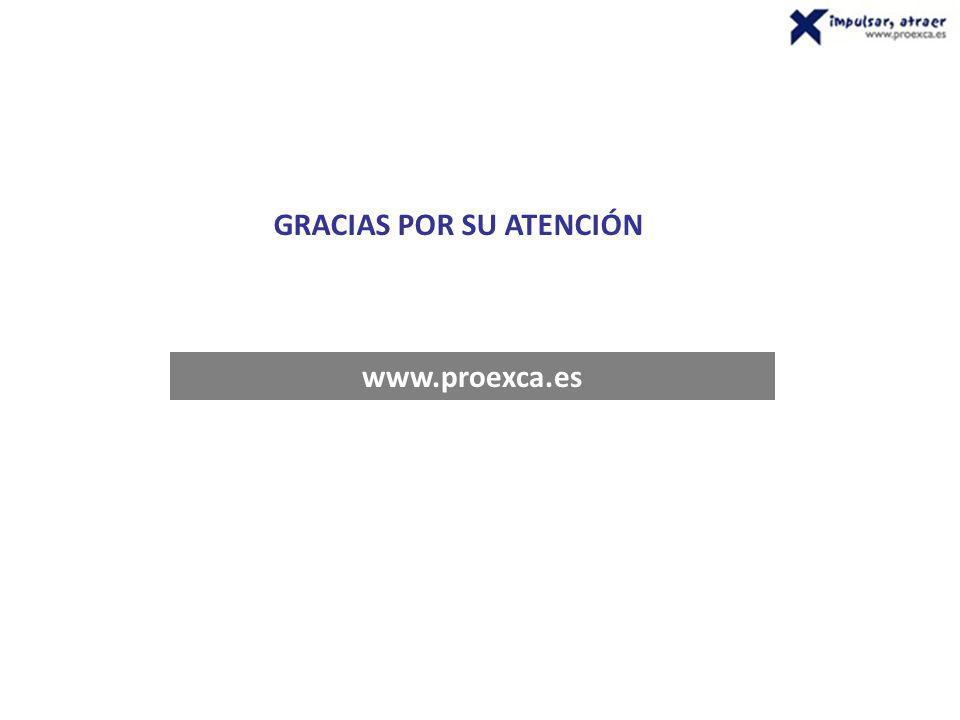 www.proexca.es GRACIAS POR SU ATENCIÓN