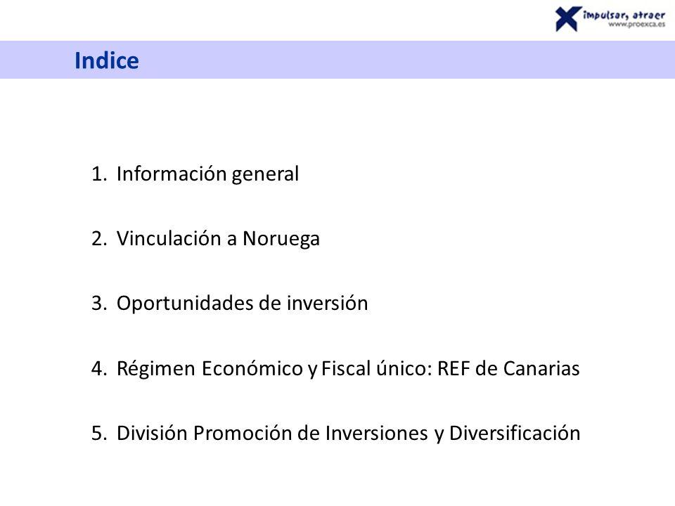 Información general: SITUACIÓN POLÍTICA Comunidad Autónoma Española Plenamente integrada en la UE Acuerdos de doble imposición internacionales En la zona euro 1.