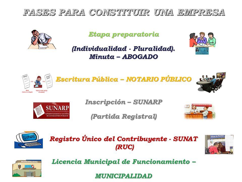 Escuela Profesional de Turismo y Hotelería en proceso de Acreditación por ACSUG Una forma más para promover empresa como persona jurídica de derecho p