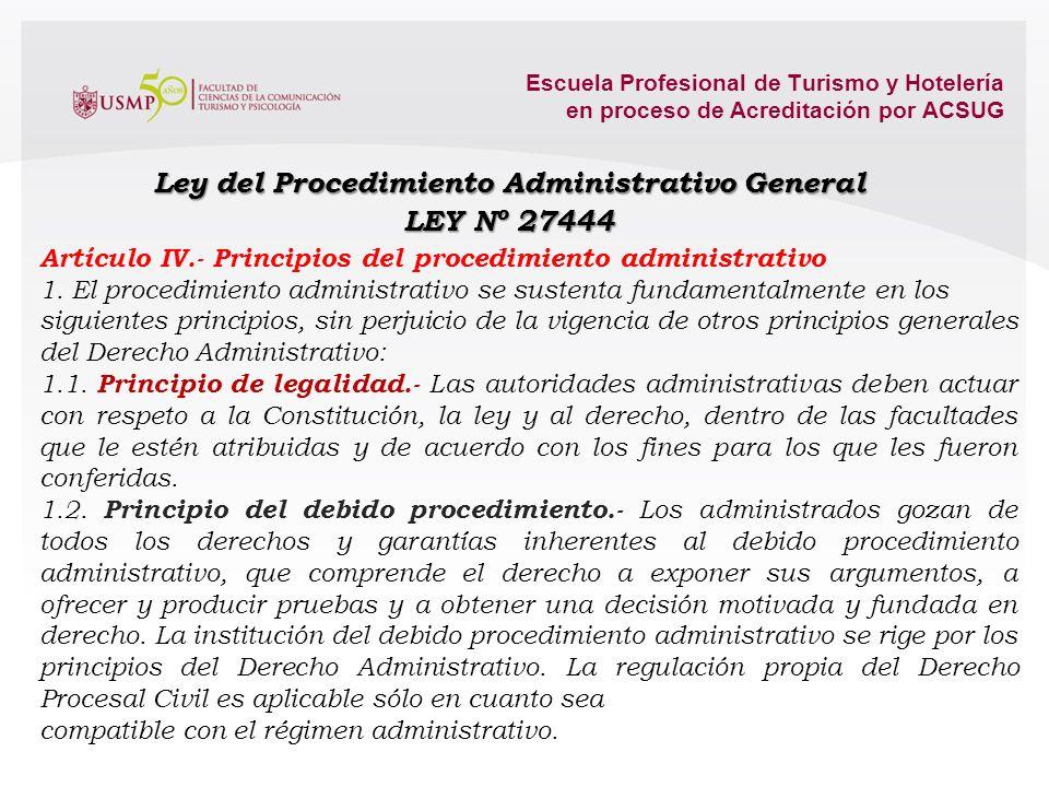AUTORIDAD ADMINISTRATIVA (ENTIDAD (ES) DE LA ADMINISTRACIÓN PÚBLICA) ADMINISTRADO (S) ADMINISTRADO (S) RELACIÓN Y SITUACIÓN JURÍDICA 12.1. La legislac