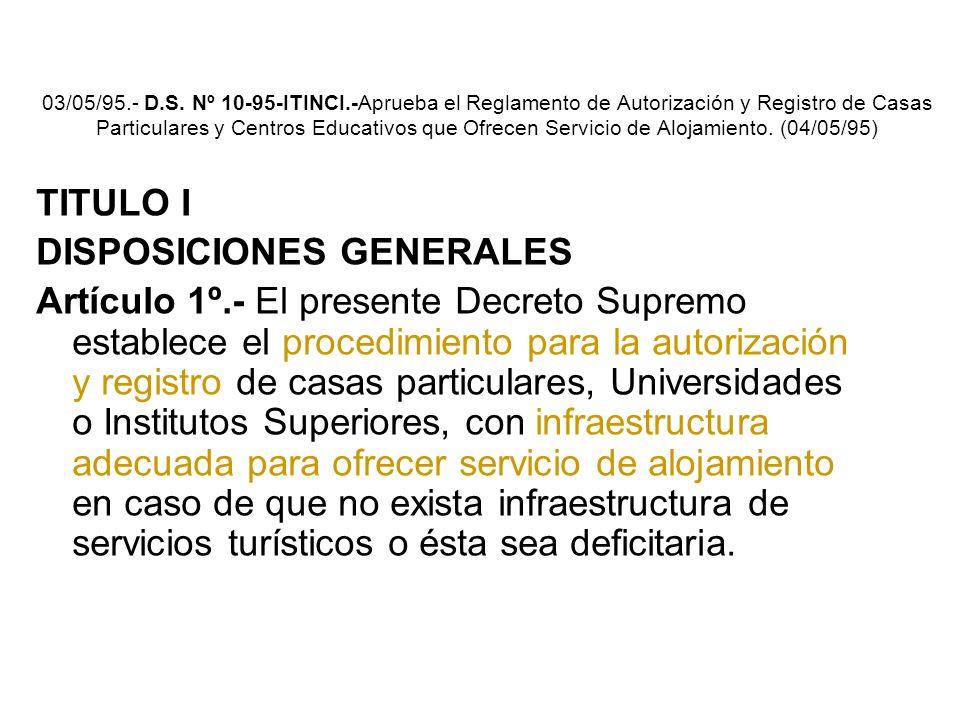 DE LA PRESTACIÓN DE LOS SERVICIOS Artículo 25°.- Condiciones del servicio. servicios en óptimas condiciones de higiene, buena conservación del local,