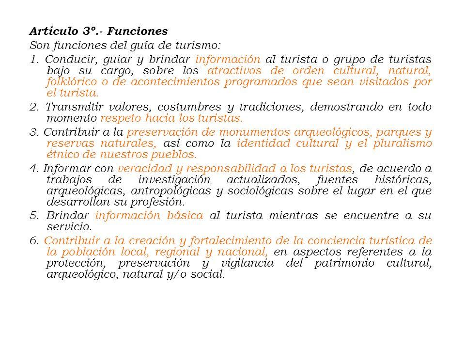 24/05/2005.- Ley Nº 28529.- Ley del Guía de Turismo. (25/05/2005) LEY Nº 28529 EL PRESIDENTE DEL CONGRESO DE LA REPÚBLICA POR CUANTO: EL CONGRESO DE L