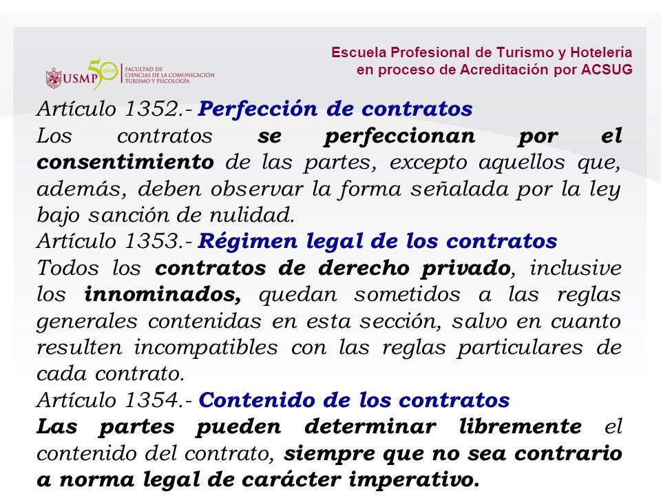 4.1. El contrato: Noción. Perfeccionamiento. Régimen. Contenido. Obligatoriedad. La buena fe. Fin de contratos continuados. Rescisión y Resolución del