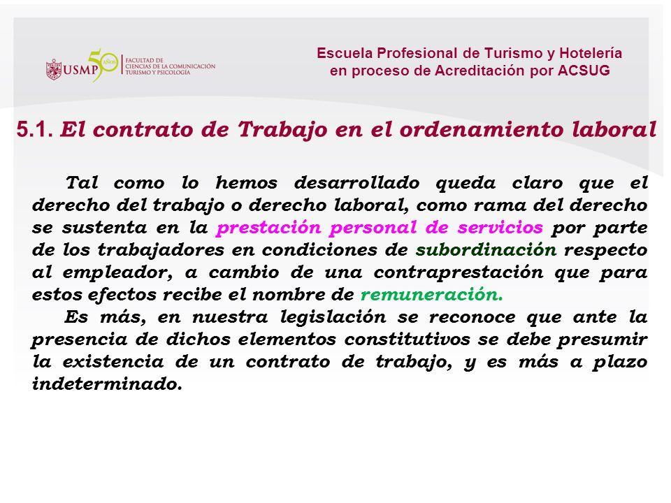 Escuela Profesional de Turismo y Hotelería en proceso de Acreditación por ACSUG ANEXO Nº 1 RELACIÓN DE PRESTACIÓN DE SERVICIOS TURÍSTICOS SEGÚN LEY GE
