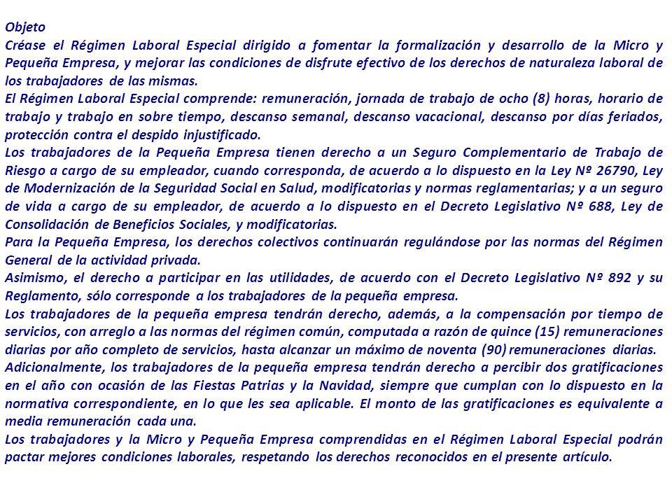 Escuela Profesional de Turismo y Hotelería en proceso de Acreditación por ACSUG Personería jurídica Para acogerse a la presente ley, la microempresa n