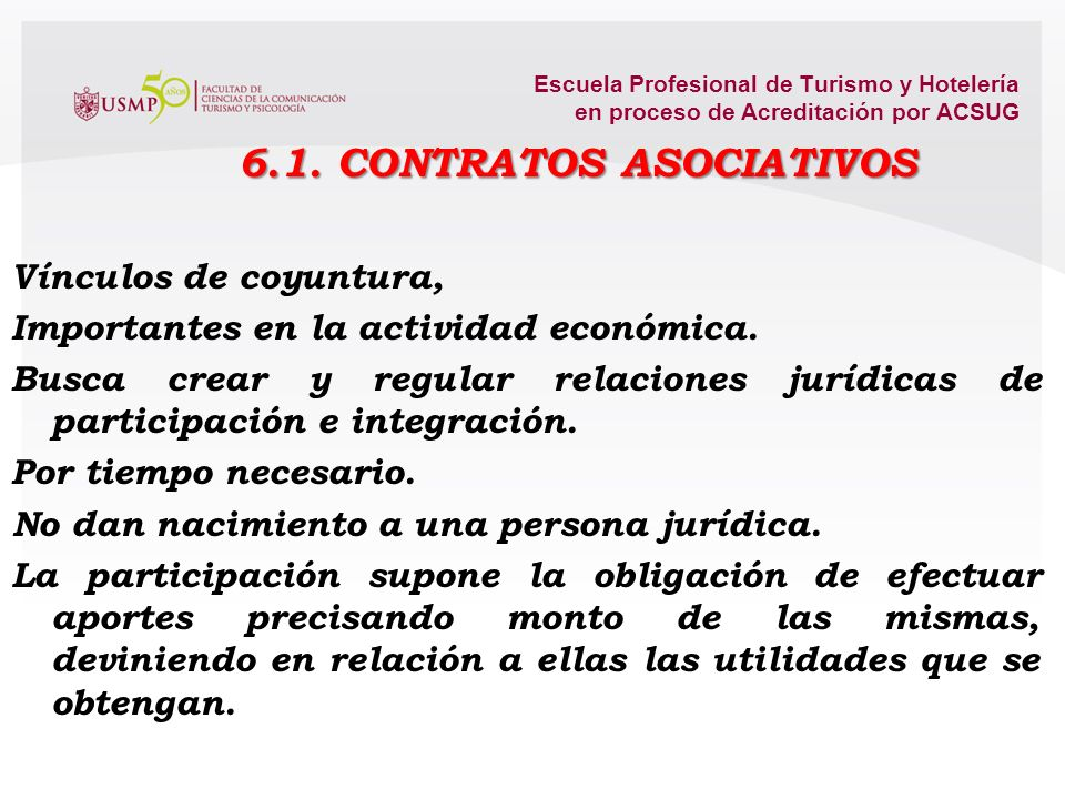 Escuela Profesional de Turismo y Hotelería en proceso de Acreditación por ACSUG El despido injustificado El importe de la indemnización por despido in