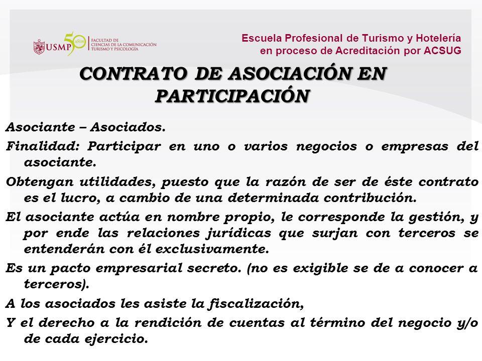 Escuela Profesional de Turismo y Hotelería en proceso de Acreditación por ACSUG Vínculos de coyuntura, Importantes en la actividad económica. Busca cr