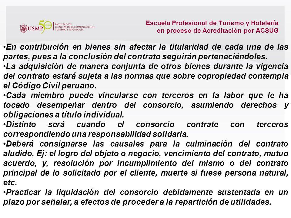 Escuela Profesional de Turismo y Hotelería en proceso de Acreditación por ACSUG Debe señalarse: -denominación, -Domicilio a la larga fiscal por ser de