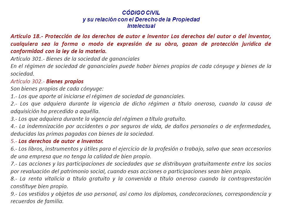 Escuela Profesional de Turismo y Hotelería en proceso de Acreditación por ACSUG 6.2. ¿QUÉ COMPRENDE LA PROPIEDAD INTELECTUAL? Derecho de Autor. Derech