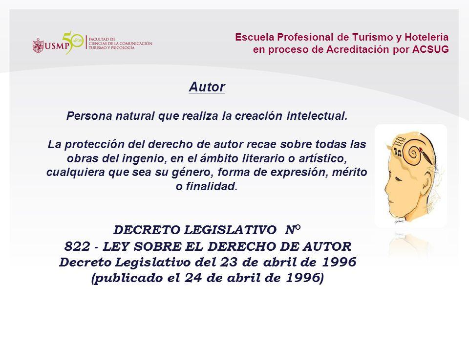 Escuela Profesional de Turismo y Hotelería en proceso de Acreditación por ACSUG Artículo 2093.- Derechos reales sobre obras La existencia y los alcanc