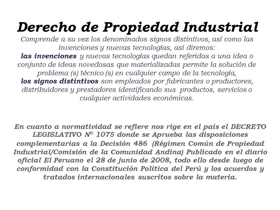 Escuela Profesional de Turismo y Hotelería en proceso de Acreditación por ACSUG 7.1. DERECHO DE LA PROPIEDAD INDUSTRIAL Referido a los derechos relaci
