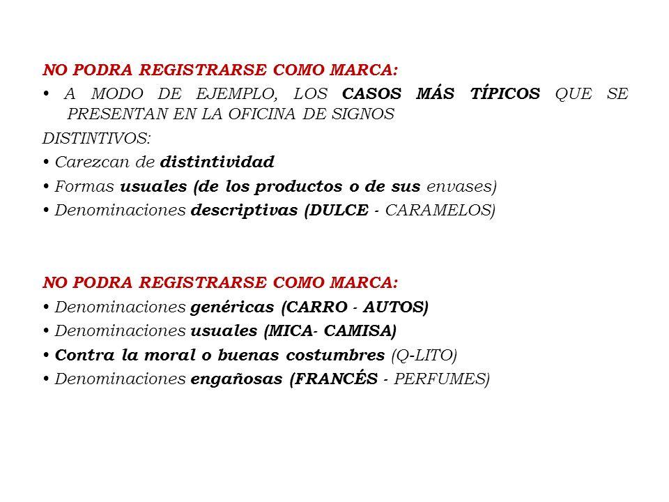 Clases de Marcas Marca de productos o servicios => individual Marca de productos o servicios => individual Marca Colectiva => asociación Marca Colecti