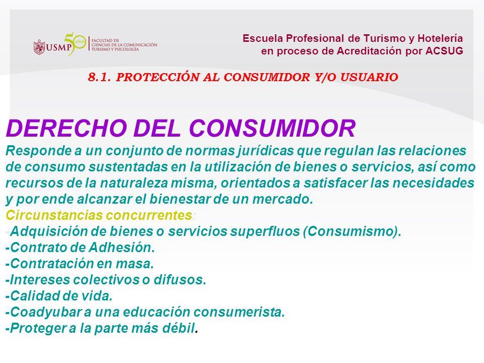 Escuela Profesional de Turismo y Hotelería en proceso de Acreditación por ACSUG Contrato innominado y autónomo. Constituye un permiso para la comercia