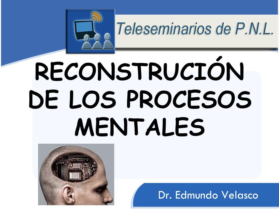 RECONSTRUCIÓN DE LOS PROCESOS MENTALES