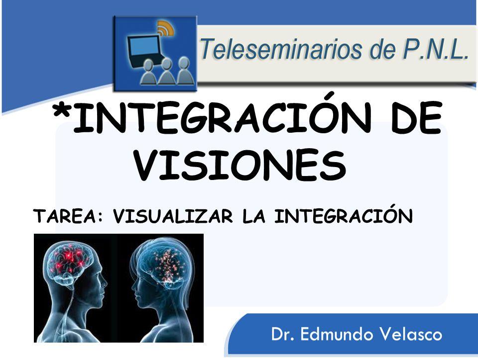 *INTEGRACIÓN DE VISIONES TAREA: VISUALIZAR LA INTEGRACIÓN