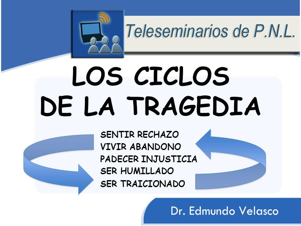 LOS CICLOS DE LA TRAGEDIA SER HUMILLADO VIVIR ABANDONO PADECER INJUSTICIA SENTIR RECHAZO SER TRAICIONADO