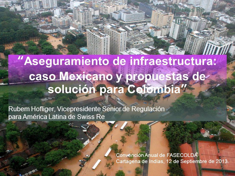 Aseguramiento de infraestructura: caso Mexicano y propuestas de solución para Colombia Rubem Hofliger, Vicepresidente Senior de Regulación para Améric