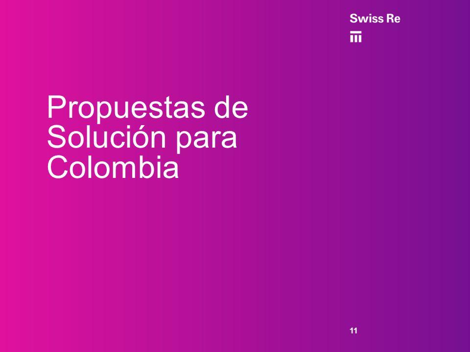 Propuestas de Solución para Colombia 11