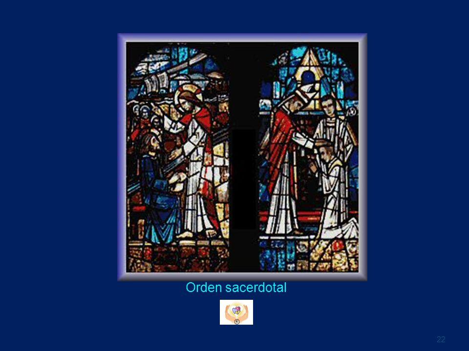 Orden sacerdotal 22