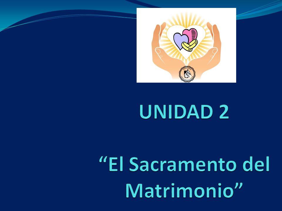 EL SACRAMENTO DEL MATRIMONIO SIGNO VISIBLE Y SENSIBLE DEL AMOR DE DIOS Dios ha creado al ser humano, hombre y mujer.