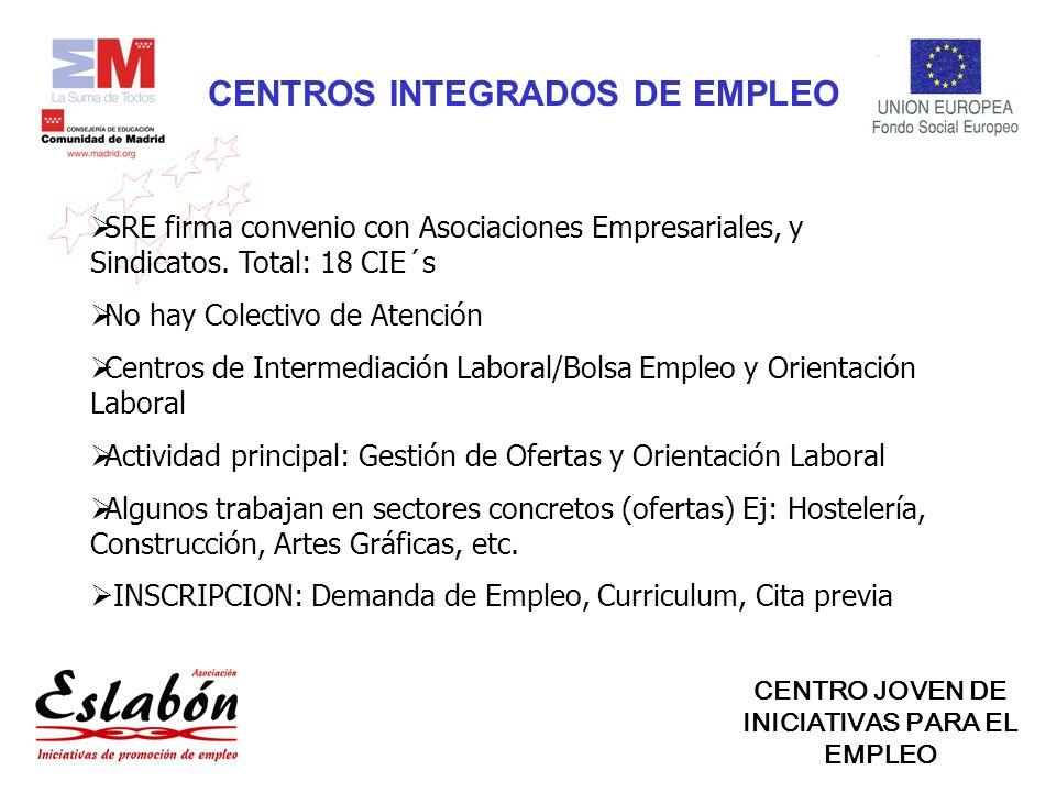 CENTROS INTEGRADOS DE EMPLEO SRE firma convenio con Asociaciones Empresariales, y Sindicatos.