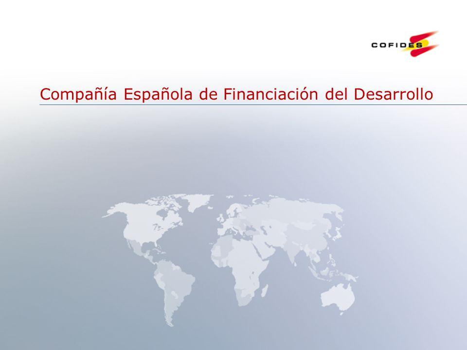 Junio 2007 1 Compañía Española de Financiación del Desarrollo