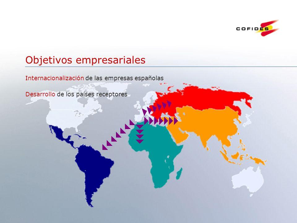 Junio 2007 4 Objetivos empresariales Internacionalización de las empresas españolas Desarrollo de los países receptores