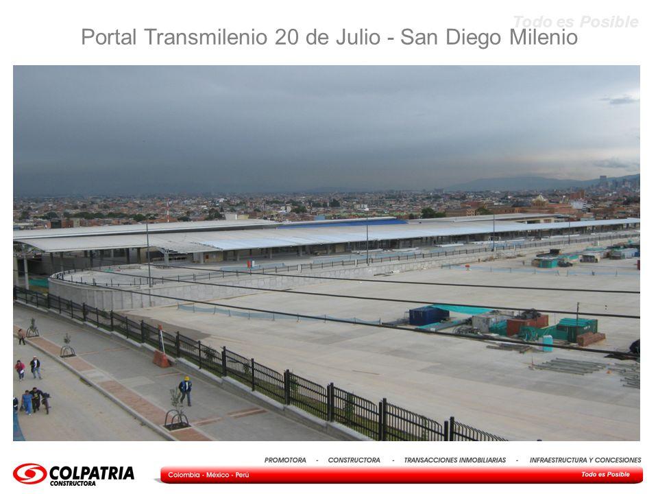 Todo es Posible Portal Transmilenio 20 de Julio - San Diego Milenio