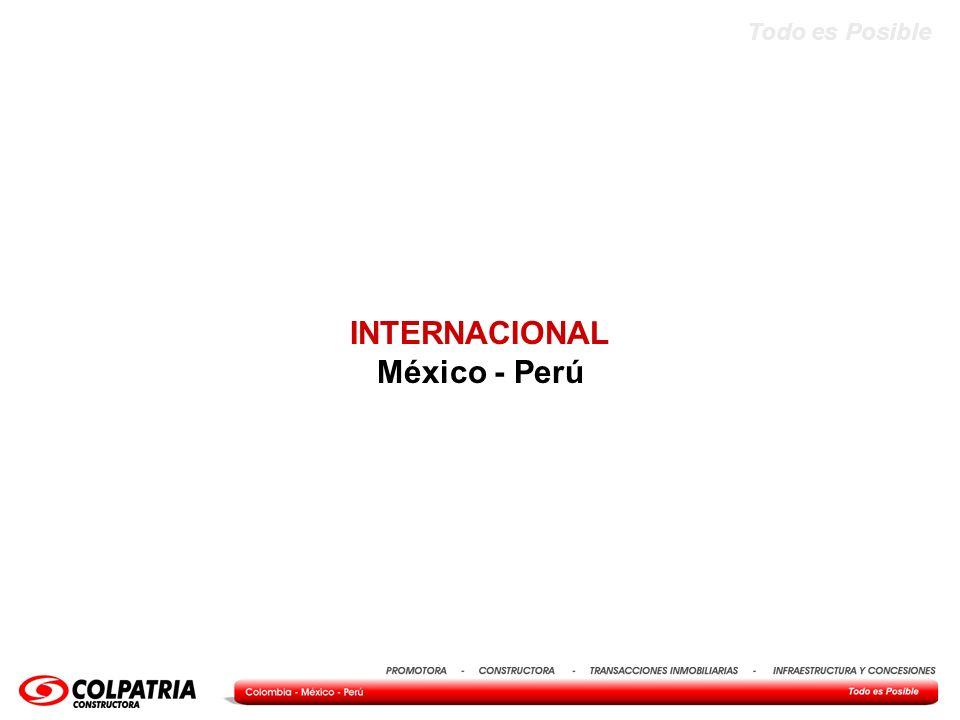 Todo es Posible INTERNACIONAL México - Perú