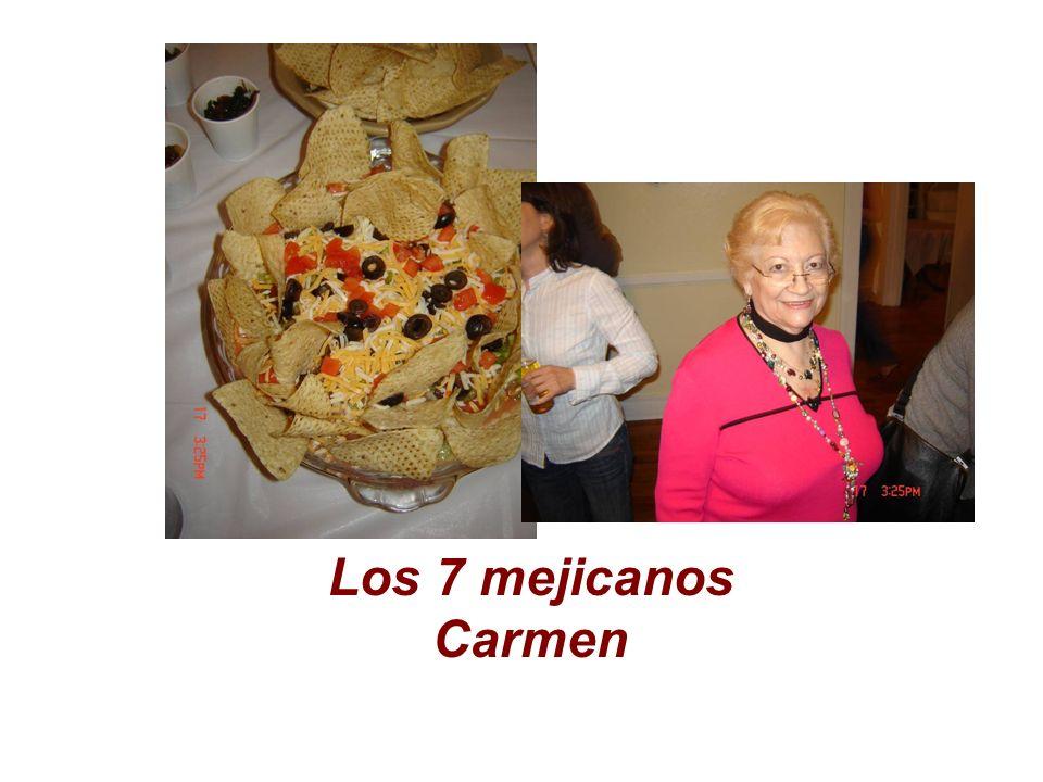 Los 7 mejicanos Carmen