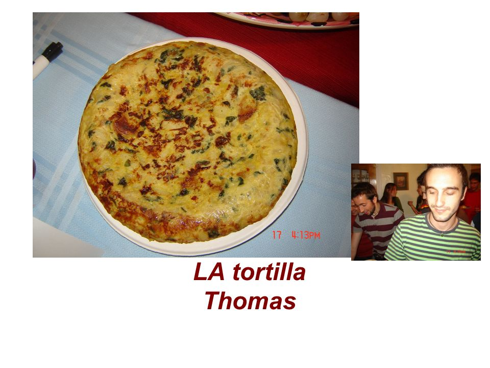 LA tortilla Thomas
