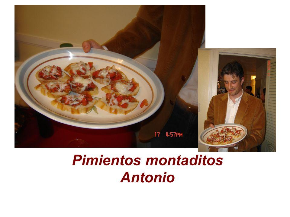 Pimientos montaditos Antonio