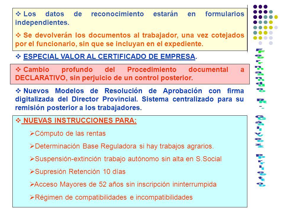COMPATIBILIDAD E INCOMPATIBILIDAD DE LAS PRESTACIONES Y SUBSIDIOS: Artículo Unico.