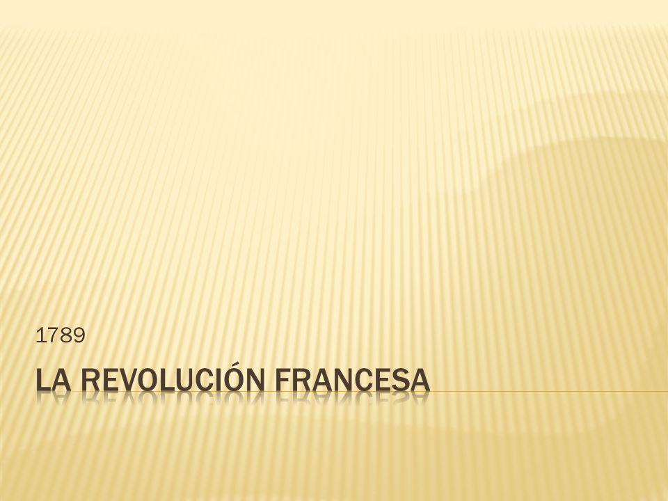 ¿ Cuál era la situación social y económica que vivía Francia, previa a la revolución.
