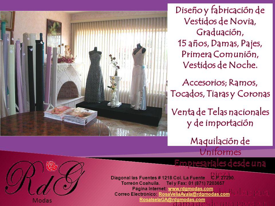 Modas Diagonal las Fuentes # 1218 Col. La Fuente C.P.