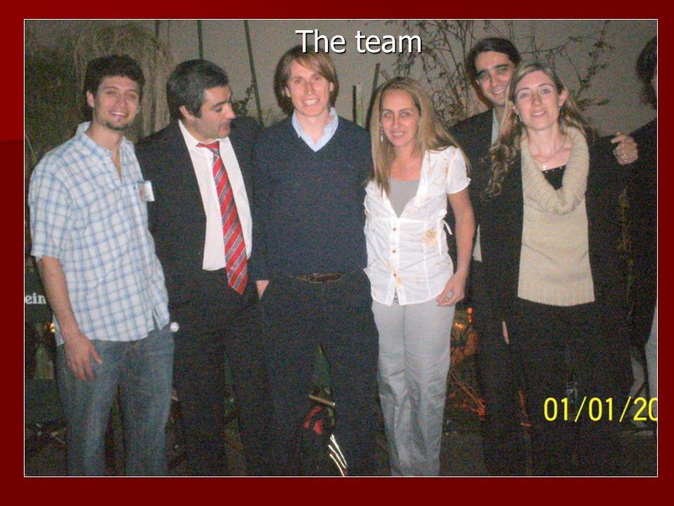 The team The team