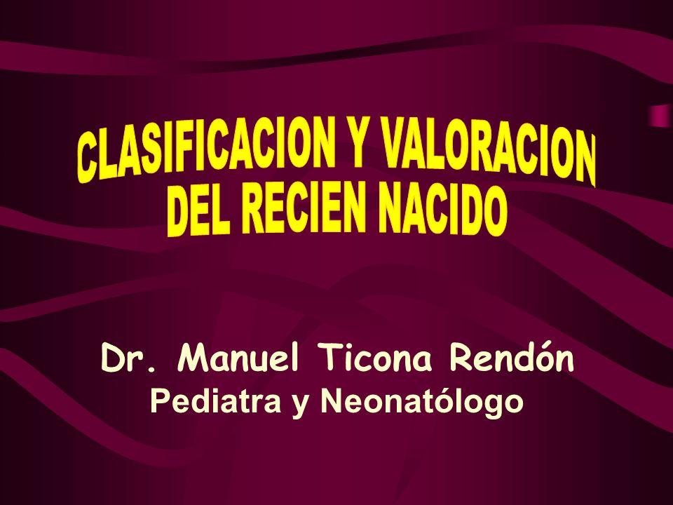 CLASIFICACION POR PESO AL NACER - RN de muy alto peso (RNMAP) : 4,500 g.