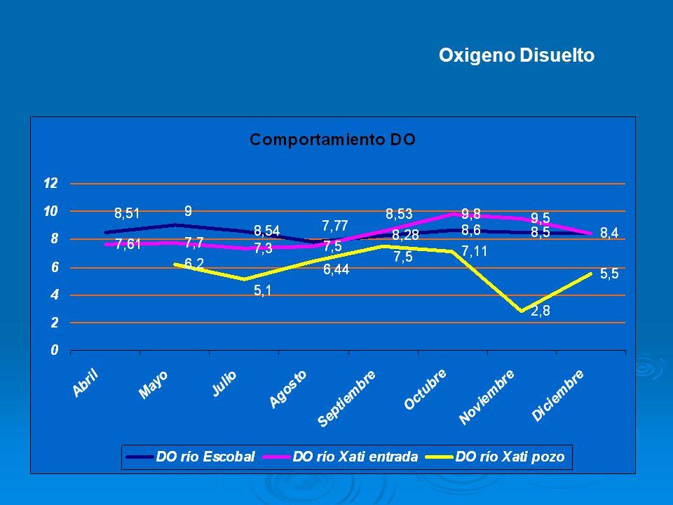 Oxigeno Disuelto
