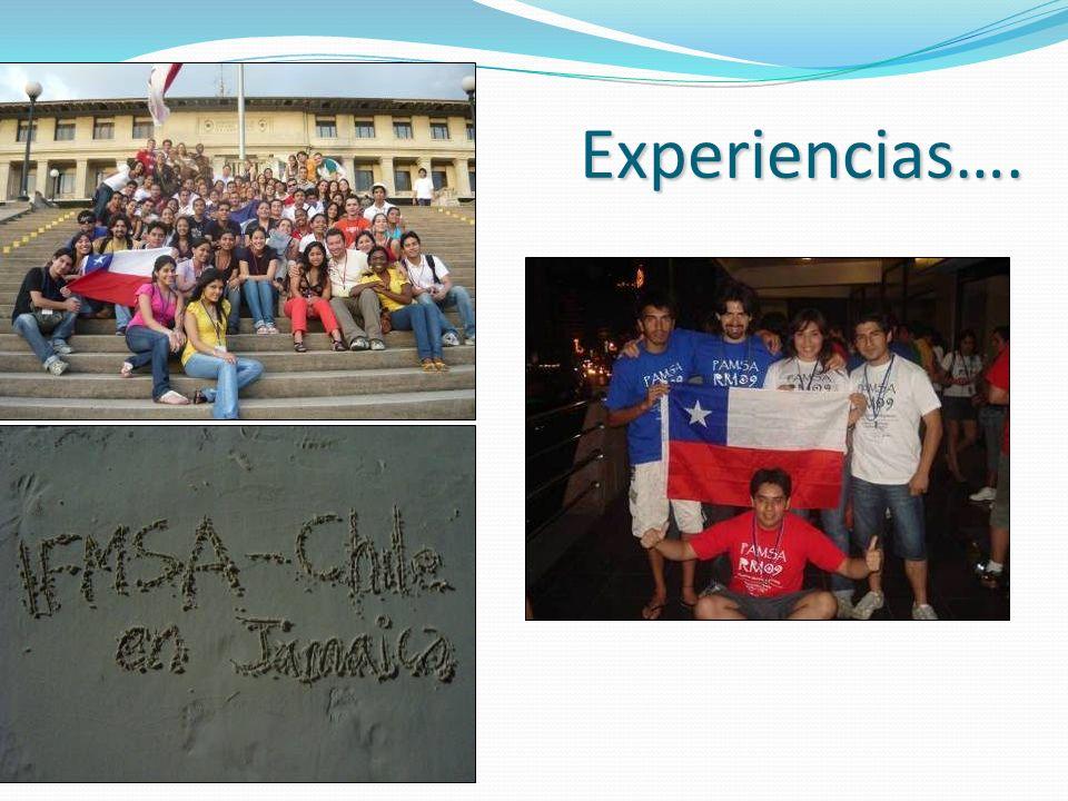 Experiencias….