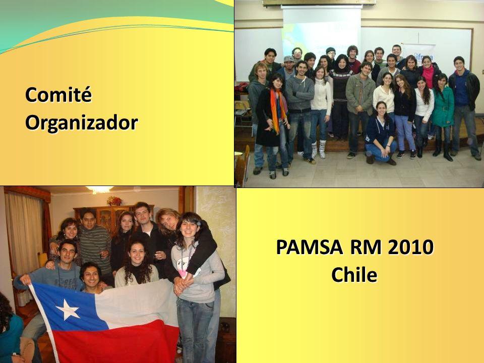 Comité Organizador PAMSA RM 2010 Chile