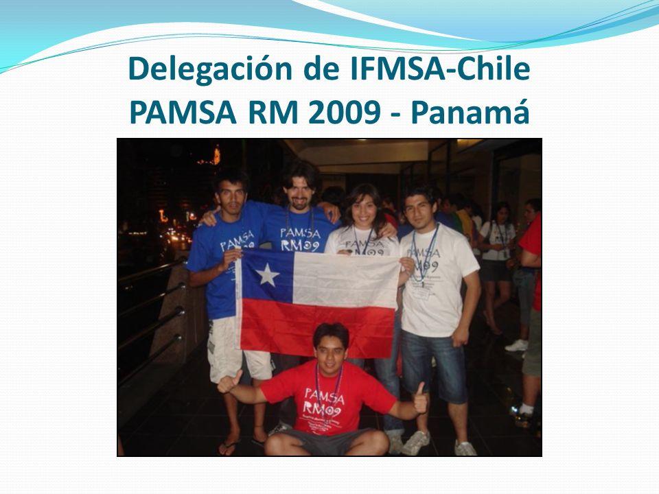 Delegación de IFMSA-Chile PAMSA RM 2009 - Panamá