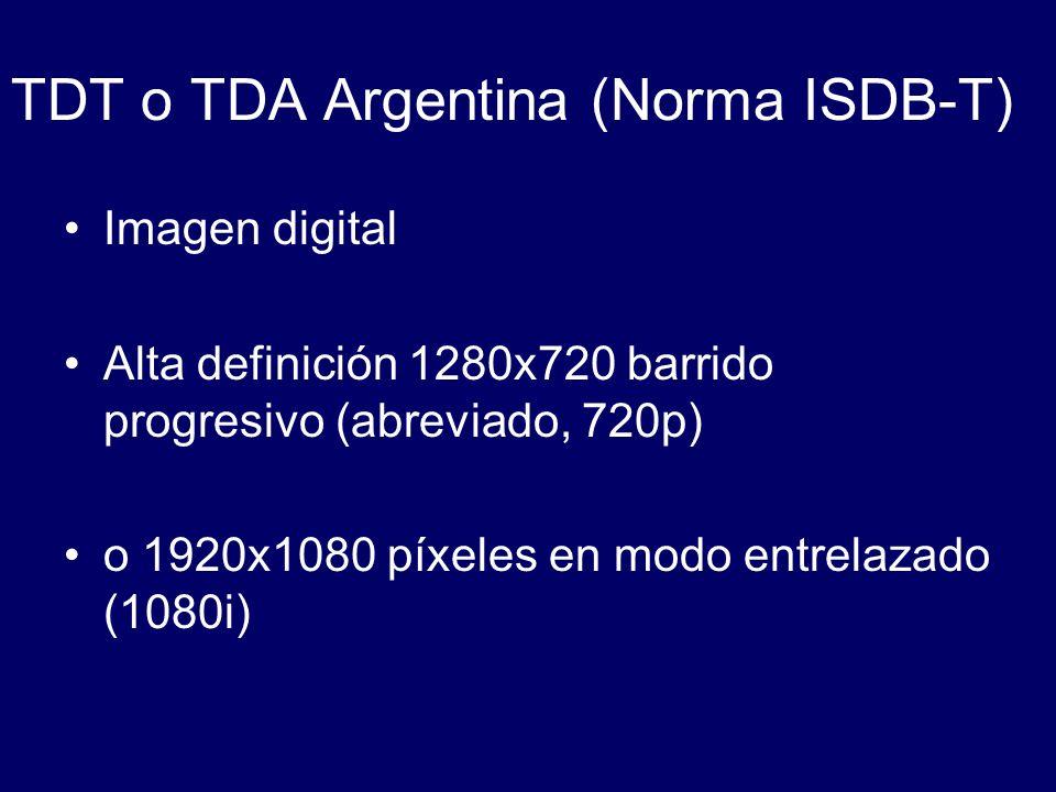 Ginga-NCL (para aplicaciones declarativas NCL) Obligatorio en equipos de Argentina.