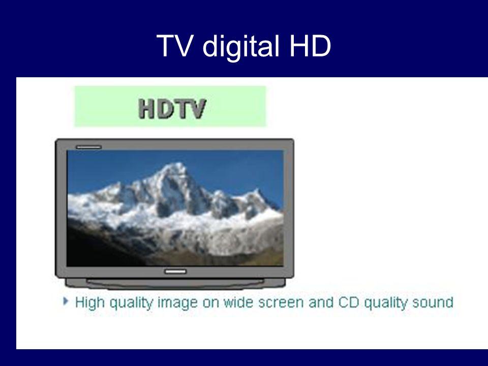 MULTIPLEX: (digital SD 768x576 o 1024x576 con PAL en 4:3 y 16:9) (Actual analógico PAL 720 x 576) Emisión con sonido multicanal, múltiples señales de audio, teletexto, canales de radio, imagen panorámica